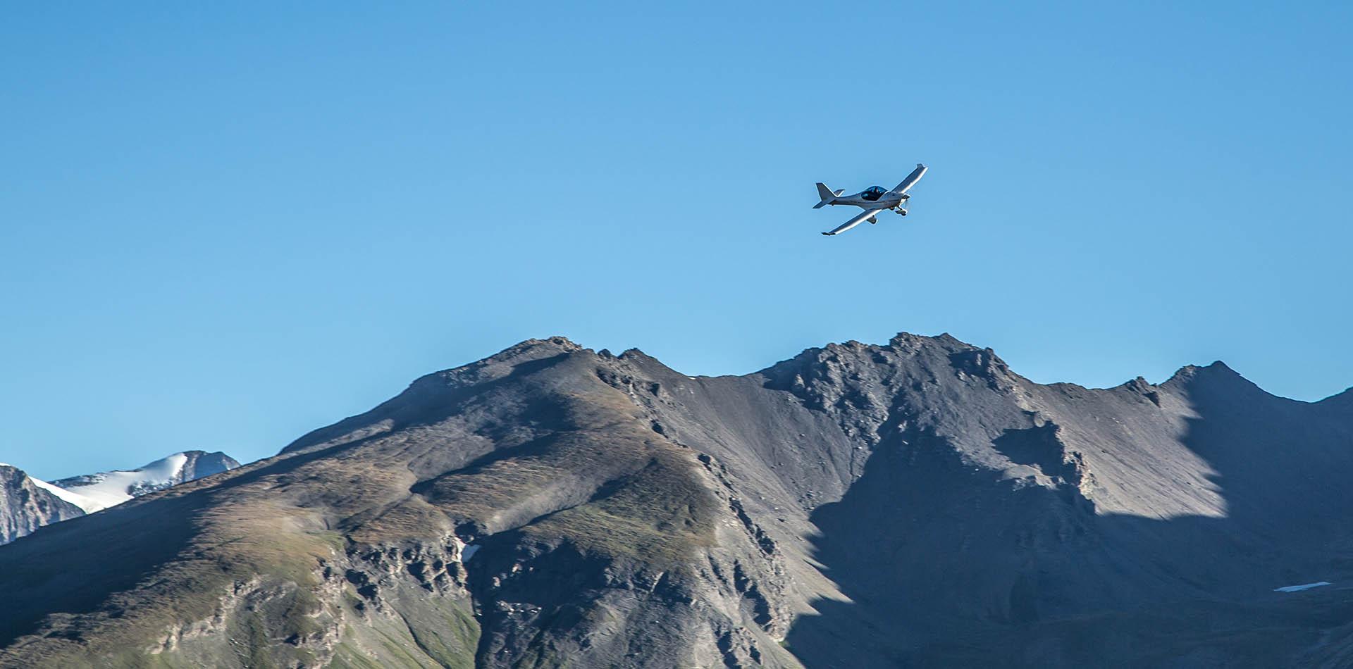 Envolez-vous au dessus des Alpes en  ULM AVION
